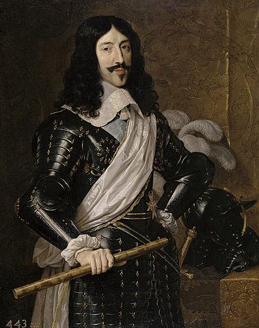 Luis XIII de Francia. (1601-1643).