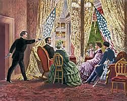 President Abraham Lincoln Assassinated by John Wilkes Booth