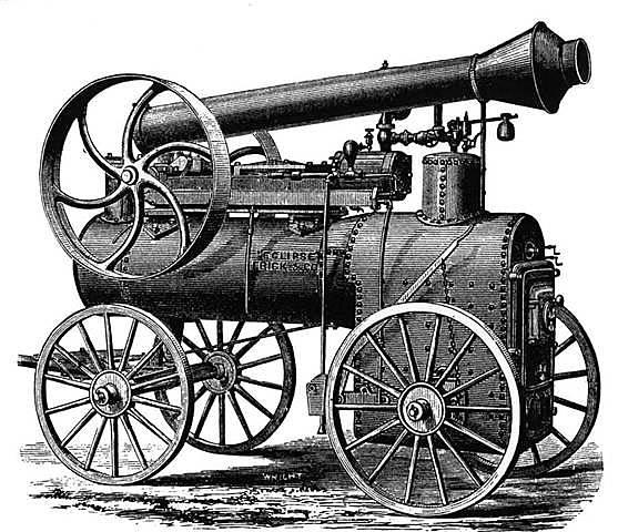 James Watts' steam engine