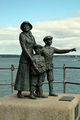 The First Person through Ellis Island