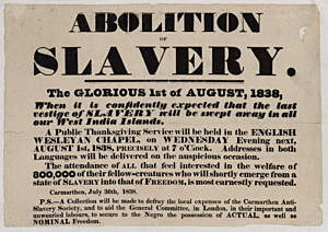 Slavery Abolition Act of 1833