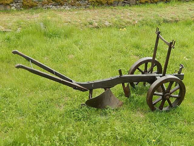 John Deere creates the steel plow