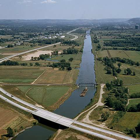 Erie canals are completed