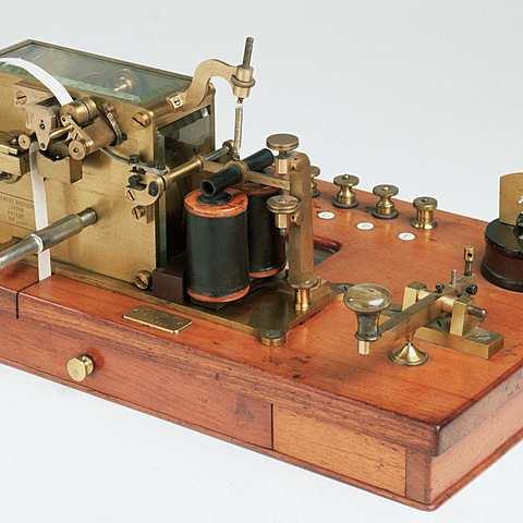 Samuel Morse invented the Telegraph