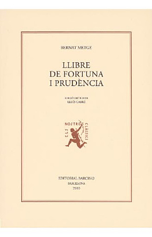 Llibre de Fortuna e Prudència - Bernat Metge