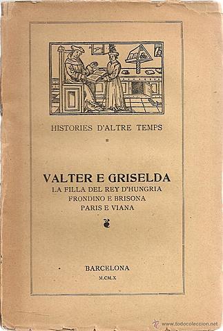 Valter e Griselda - Bernat Metge