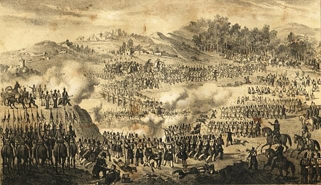 Inicio de la segunda guerra carlista
