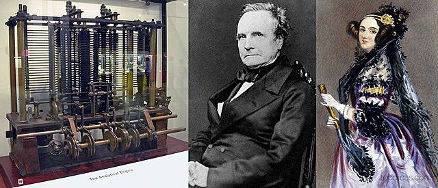 Máquina analítica de Babbage e Ada Lovelace