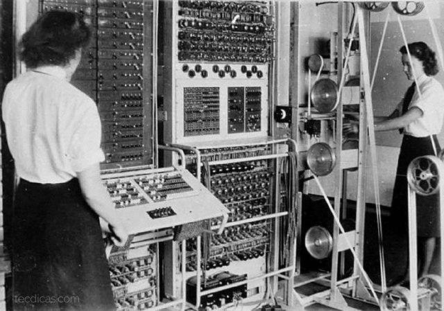Computador Colossus de 1945