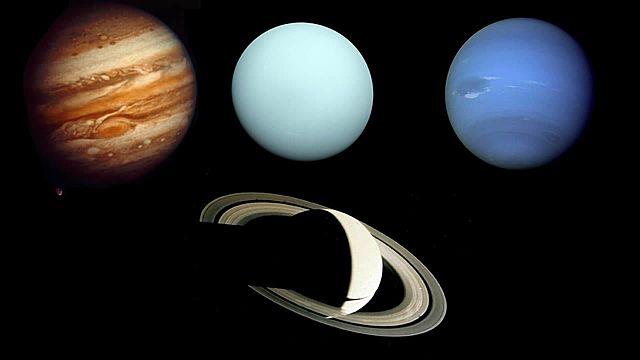 Sondas espaciais Voyager I e II e o sistema solar