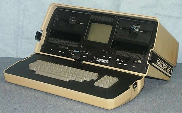 O primeiro computador portátil