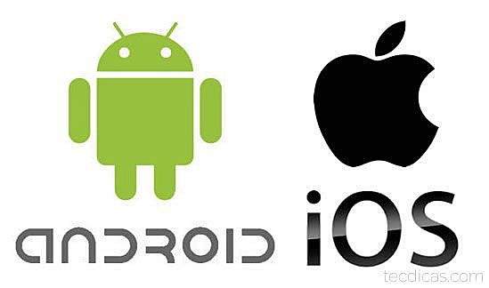Smartphones Android e iOS