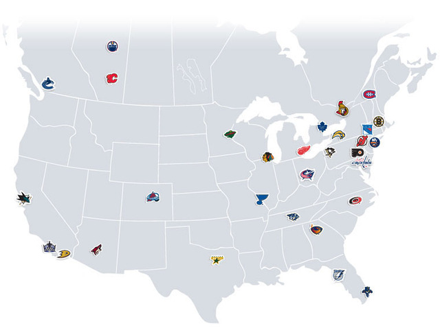 NHL Growing in Size
