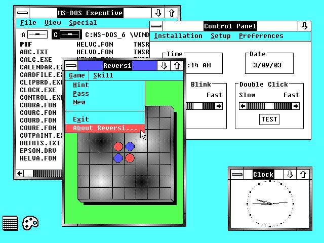 Windows 2.1 (386 /286 )