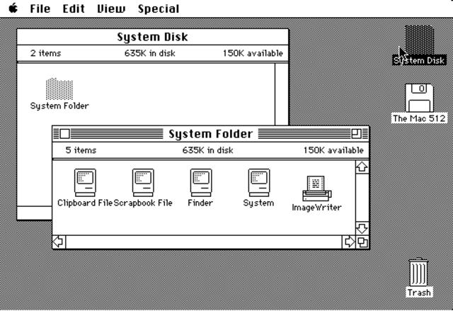 Mac OS system 3