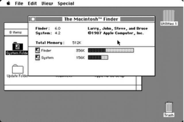 Mac OS system 4