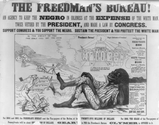 Freedmen's Bureau ends