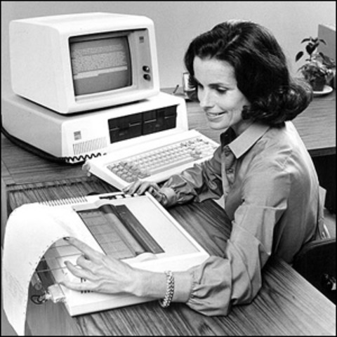 The first IBM-Personal Computer