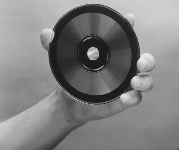 The first compact disc