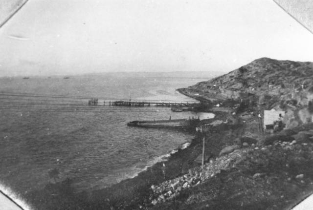 Allied forces make landings an Gallipoli, Turkey