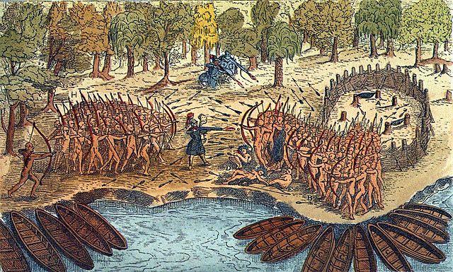 Alliance avec les Hurons et les batailles de Ticonderoga
