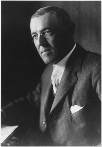 President Wilson, publicly calls for the German's to stop their submarine policy of sinking all ships in enemy waters without warning.