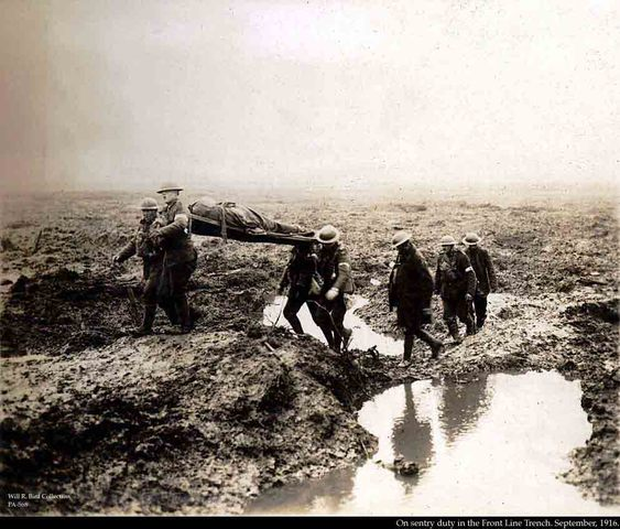 This was the 1st battle of Ypres.