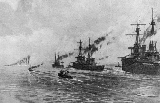 Battle of Jutland begins