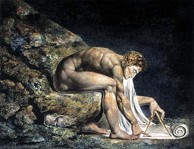 """Newton"" de WILLIAM BLAKE"