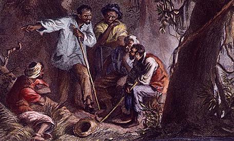 Nat Turner leads slave insurrection in Virginia.