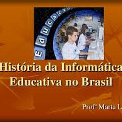 História da informática educativa timeline