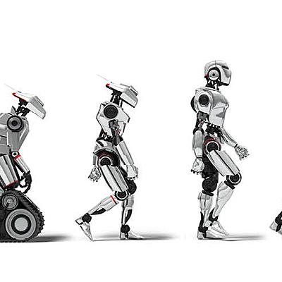 L'évolution des robots timeline