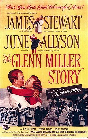 Música y lágrimas. - Película. Biografía de Glenn Miller.