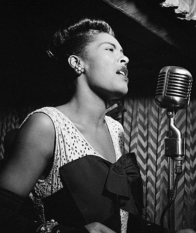 Billie Holiday. (1915-1959). - Gran influencia para Sinatra.