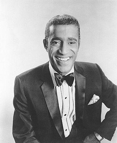 Sammy Davis Jr. (1925-1990).
