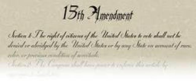 The Fiftteenth Amendment