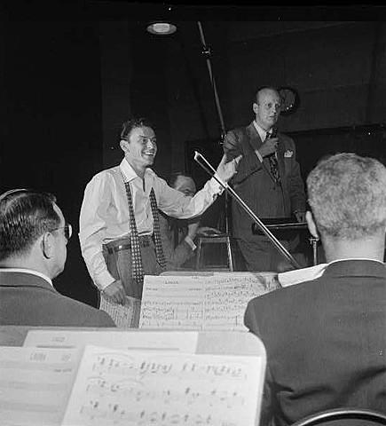 Axel Stordahl. (1913-1963). - Arreglista de Sinatra.