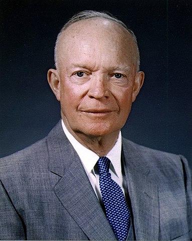 Dwight D. Eisenhower. (1890-1969). - 34º Presidente de los Estados Unidos.