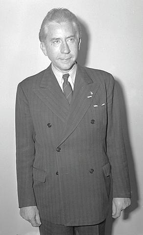 Jean Paul Getty. (1892-1976).