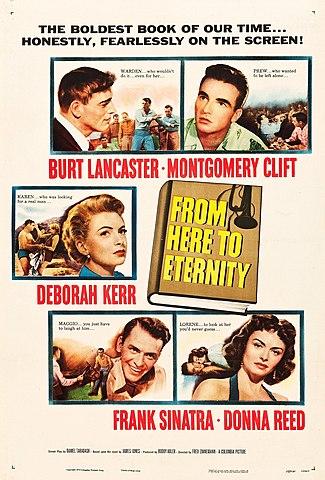 """""""De aquí a la eternidad"""" dirigida por Fred Zinnemann."""