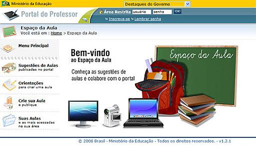 Lançamento do Portal do Professor