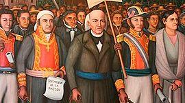 Etapas de la Guerra de Independencia timeline
