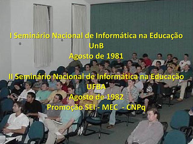 O primeiro grande encontro pela informática na educação