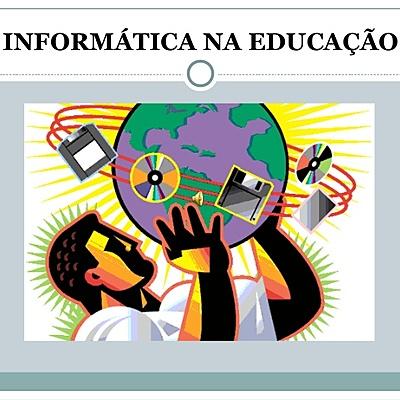 História da Informática na Educação. timeline