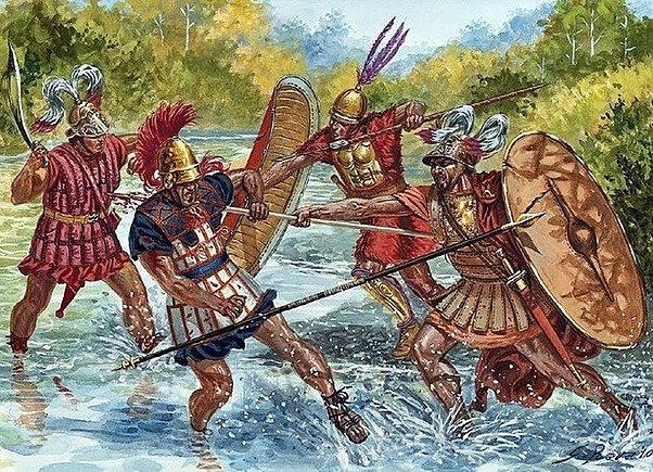 Guerres samnites (343-341aC) (326-304aC) (298-290aC)