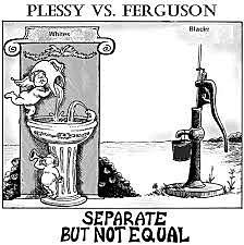 Supreme Court says segregation is legal