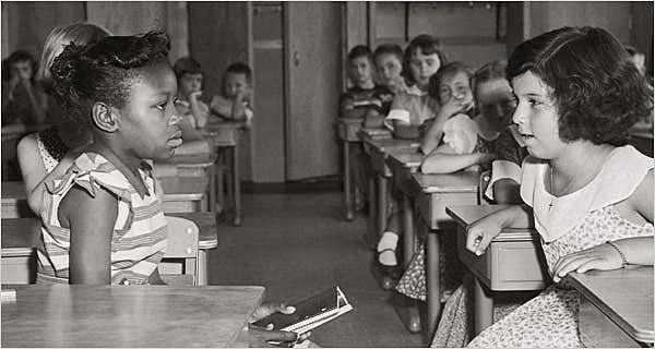 Brown v. Board of Education: segregation in schools is illegal