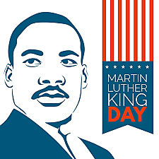 Martin Luther King Day becomes a national holiday