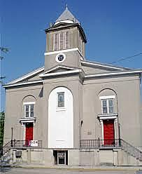 First Black church founded in America, in South Carolina