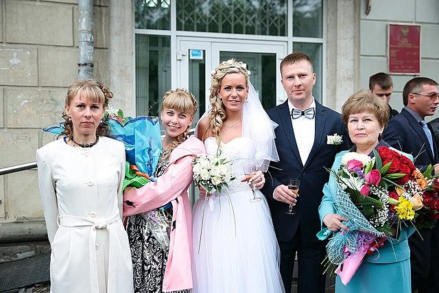 Свадьба..